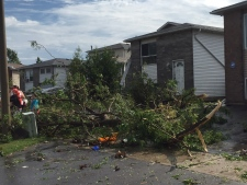 Oshawa storm damage