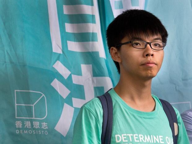 protest leader Joshua Wong