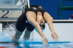 Women's 100m Backstroke (BRONZE) --  Canada's Kylie Masse swims to a bronze medal in the 100m backstroke at the Olympic games in Rio de Janeiro, Brazil on Monday, August 8, 2016. THE CANADIAN PRESS/HO - COC - Jason Ransom