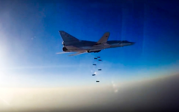 Russian aircraft uses the Iranian base thrice to hit terrorists in Syria