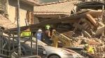 Italy, rubble