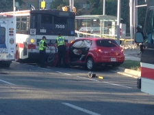 TTC, crash, fatal