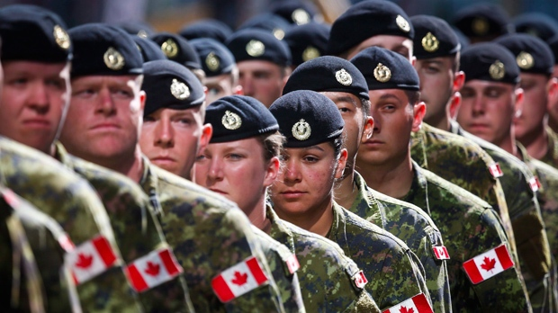 Sexual misconduct up 22 per cent in Canadian military