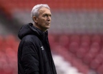 Canadian men's national soccer team head coach Benito Floro watches team practice in Vancouver, B.C., on Thursday November 12, 2015. THE CANADIAN PRESS/Darryl Dyck