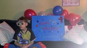 Alexandru (Alex) Radita at his 15th birthday party