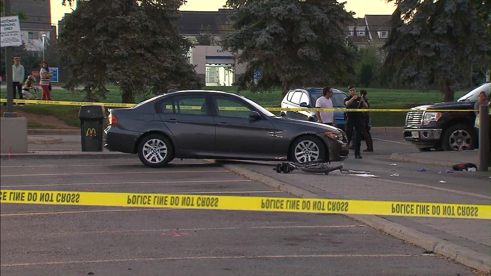 Cyclist Struck By Car At Drive Thru In Oakville