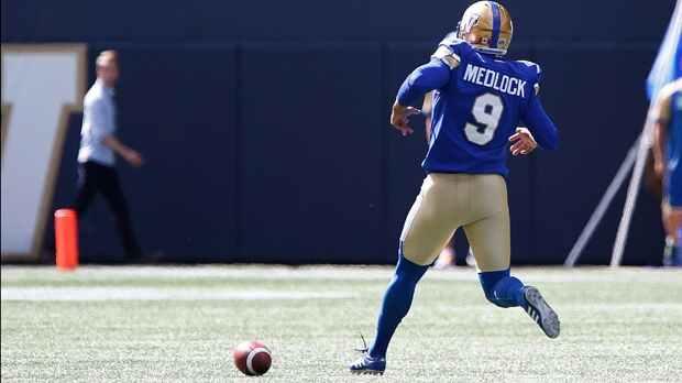 Medlock kicks 6 field goals as Winnipeg