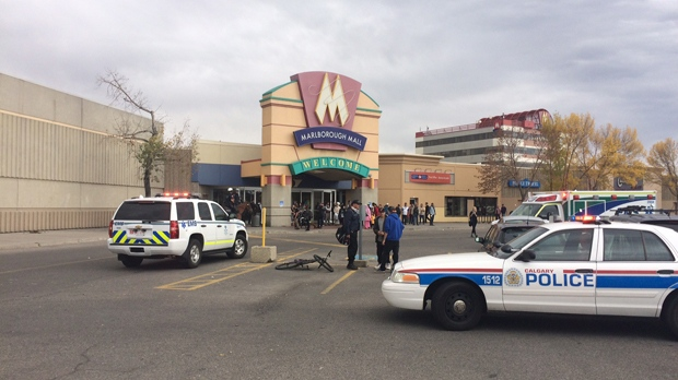 NewsAlert: Officer injured in incident at Calgary mall