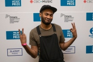 Kaytranada poses for a photo after being awarded the 2016 Polaris Music Prize in Toronto on Monday, Sept. 19, 2016. (The Canadian Press/Chris Young)