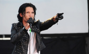 In this May 25, 2013 file photo, Corey Feldman performs in Los Angeles. (Photo by Katy Winn/Invision/AP)