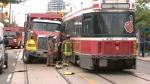 Streetcar crash