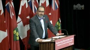 Energy Minister Glenn Thibeault
