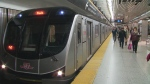 TTC subway train