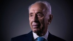 In this Monday, Feb. 8, 2016 file photo, Israel's former President Shimon Peres poses for a portrait at the Peres Center for Peace in Jaffa, Israel.  (AP /Oded Balilty)