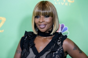 "In this June 1, 2016 file photo, Mary J. Blige attends ""The Wiz Live!"" Photo Op held at the Directors Guild of America in Los Angeles.  (Photo by Richard Shotwell/Invision/AP, File)"