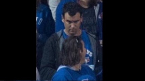 Toronto police released a photo of a suspect Wednesday evening after a beer can was thrown onto the playing field during a Blue Jays Wild Card game on Tuesday, Oct. 5, 2016.