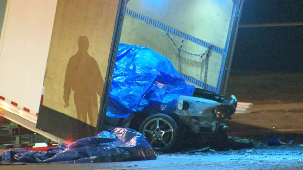 fiery crash fatal brampton four dead
