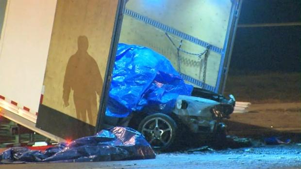 fiery crash fatal brampton four dead