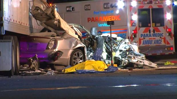 Year Old Dies In Car Accident Brampton