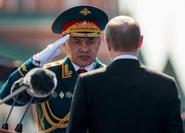 Sergei Shoigu, Putin,
