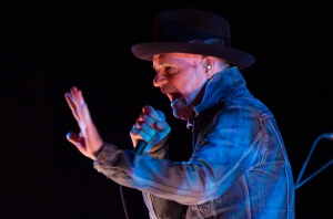 Gord Downie is seen performing during 'Secret Path' at the National Arts Centre on Tuesday, Oct, 18, 2016 in Ottawa. (The Canadian Press/Adrian Wyld)