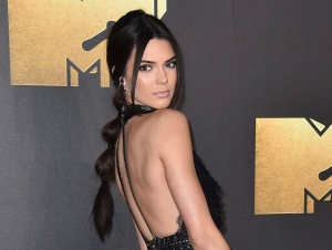 In this April 9, 2016 file photo, Kendall Jenner arrives at the MTV Movie Awards in Burbank, Calif. (Photo by Jordan Strauss/Invision/AP)
