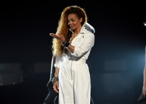 In this June 28, 2015, file photo, Janet Jackson accepts the ultimate icon: music dance visual award at the BET Awards in Los Angeles. (Photo by Chris Pizzello/Invision/AP)