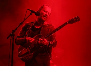 Radiohead's Thom Yorke performs on the first day of the Austin City Limits Music Festival on Friday, Sept. 30, 2016, in Austin, Texas. (Photo by Jack Plunkett/Invision/AP)