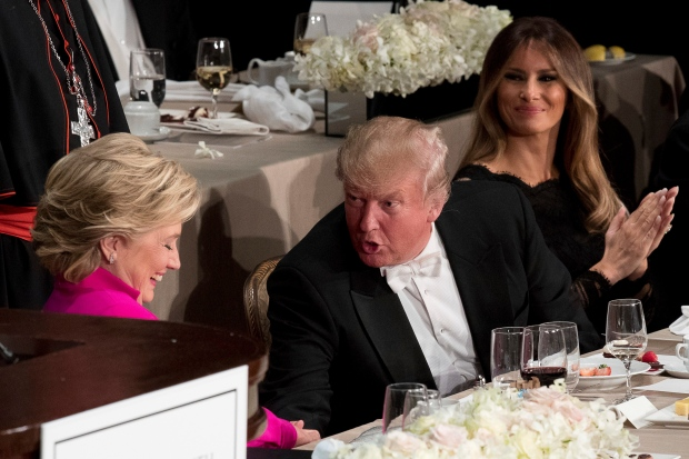Trump Gets Booed While Slamming Clinton at a Charity Gala
