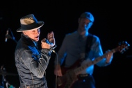 Gord Downie performs on stage in Toronto, on Friday October 21, 2016. THE CANADIAN PRESS/Chris Young