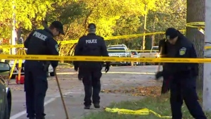 Police continue to investigate a fatal shooting that took place Oct. 22 outside the Streetsville Kinsmen Seniors Centre in Mississauga.