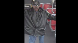 Police have released this image of a suspect wanted in connection with an alleged sexual assault on a TTC bus.