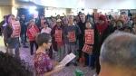 TTC protest