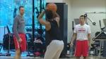 Raptors practice