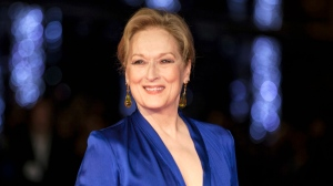 """In this Oct. 7, 2015 file photo, Meryl Streep appears at the premiere of the film """"Suffragette,"""" at the opening gala of the London film festival in London.  (Photo by Grant Pollard/Invision/AP, File)"""