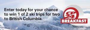 Experience British Columbia Ski Getaway Contest