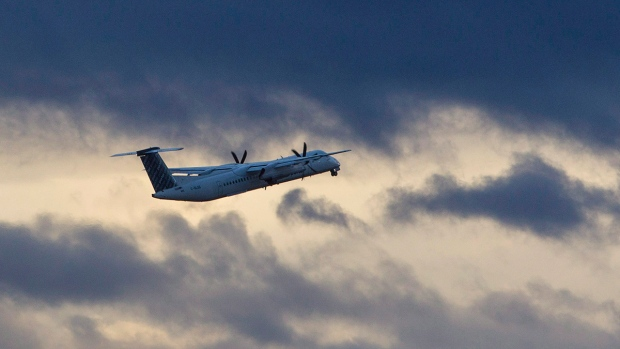 A Porter Airlines plane