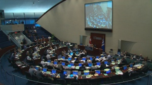 Toronto city council is pictured in this file photo.