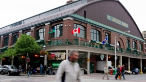 Toronto's St. Lawrence Market is seen on Saturday, June 2, 2012. (The Canadian Press/Chris Young)