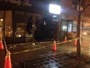 Vehicle crashes into etobicoke tattoo parlour severs gas for Tattoo shops etobicoke