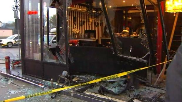 Vehicle crashes into etobicoke tattoo parlour for Tattoo shops etobicoke