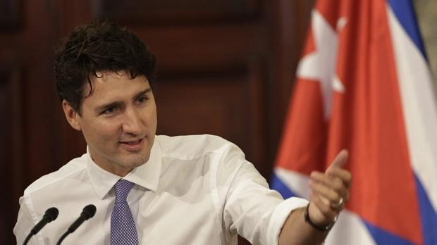 Trudeau in Cuba