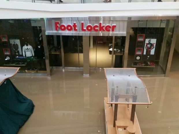 Pickering Town Centre, flood,