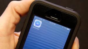 The Facebook Messenger app icon