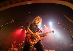 Kirk Hammett of Metallica plays at the Opera House, a small venue with a 950 person capacity, in Toronto, Tuesday November 29, 2016. Proceeds from the show will go to The Daily Bread Food Bank, an organization that helps combat hunger. THE CANADIAN PRESS/Mark Blinch