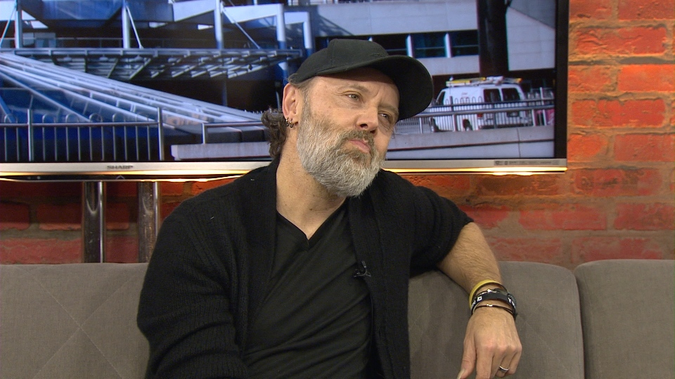 Metallica Drummer Lars Ulrich sits down for an interview with CP24 Wednesday November 30, 2016.
