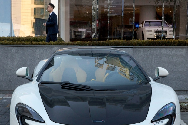 China, luxury, cars