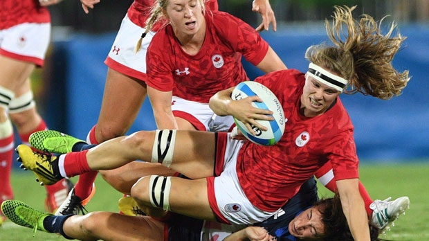 Canadian women's rugby team