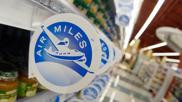 The Air Miles logo is seen in this undated file photograph.