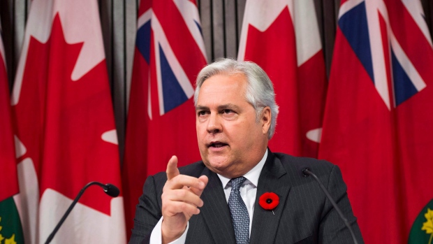 Ontario ombudsman Paul Dube